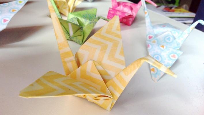 Thousand origami cranes
