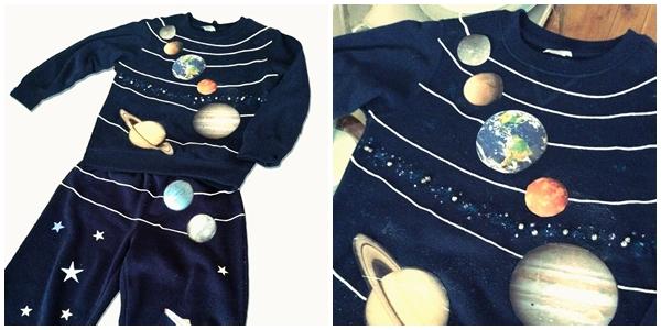 El reto de hacer un disfraz del Sistema solar