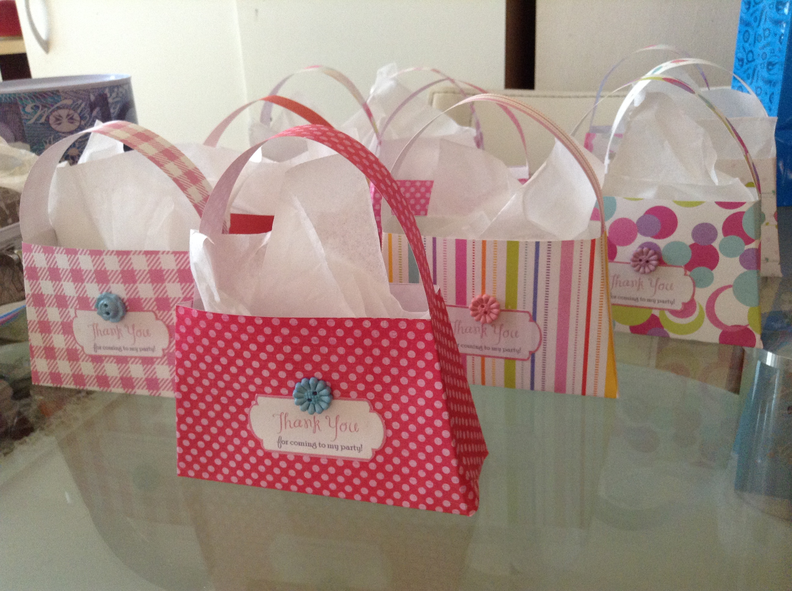 Mini-purse lollie bags