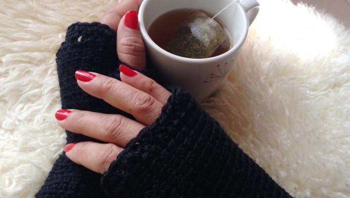 Lunes de Inspiración: Como hacer Guantes sin dedos (Crochet)