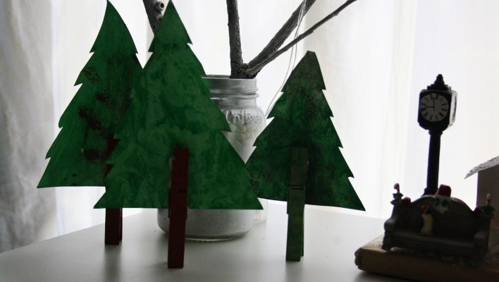 Fun for kids: Easy Christmas tree