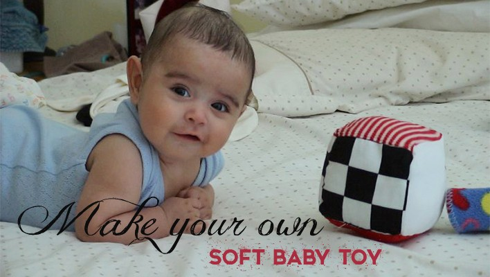 D.I.Y. Make a Soft Baby Toy