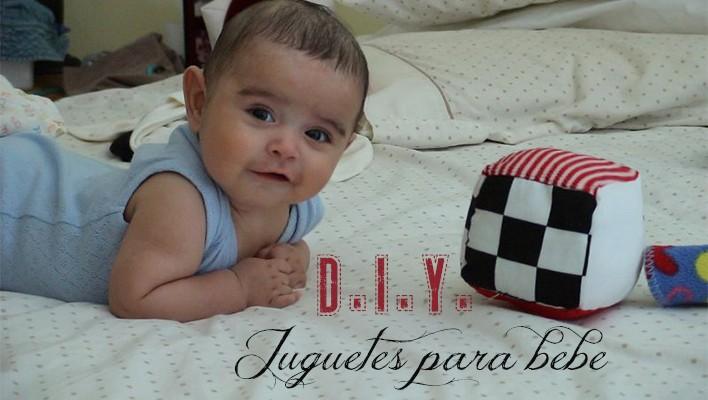 D.I.Y. Haz un cubo de juguete para bebe.