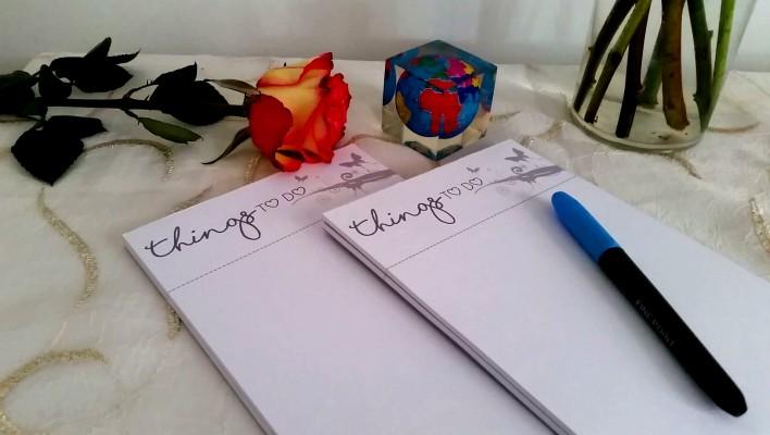 DIY: Cómo hacer una libreta ó block de notas