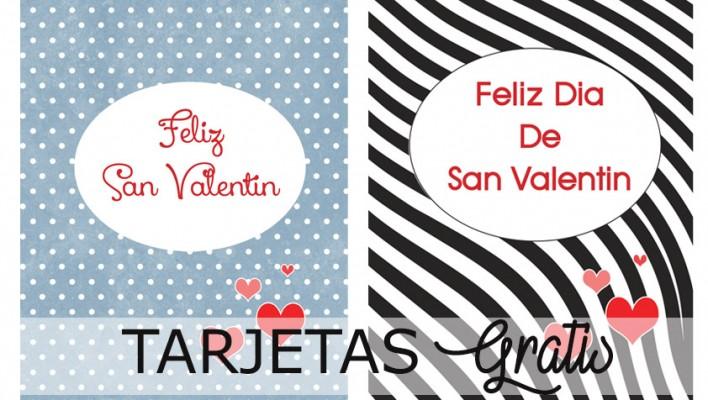 "Tarjetas de ""San Valentín"" para Imprimir"""